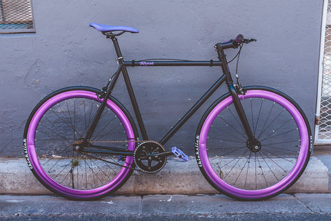 Rook One Limited Edition - Super limited. Last one available with purple Decals. Select black or purple wheels.