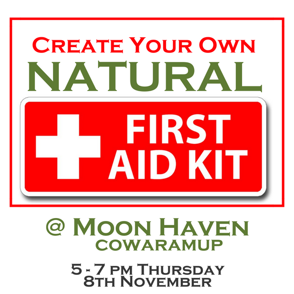 Create Your Own NATURAL First Aid Kit