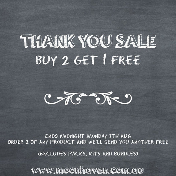 Thank You Sale - Buy 2 and Get 1 FREE*