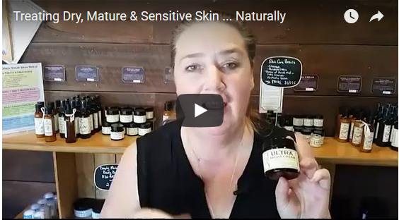 Treating Dry, Mature & Sensitive Skin ...  Naturally