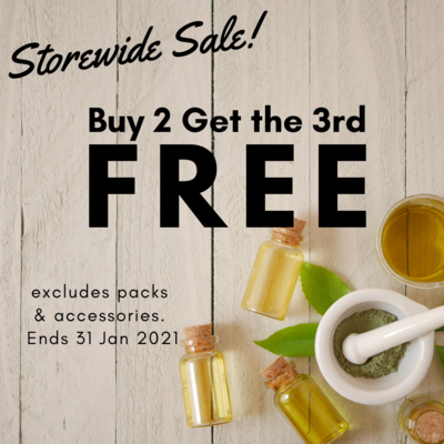 Buy 2 Get a 3rd FREE