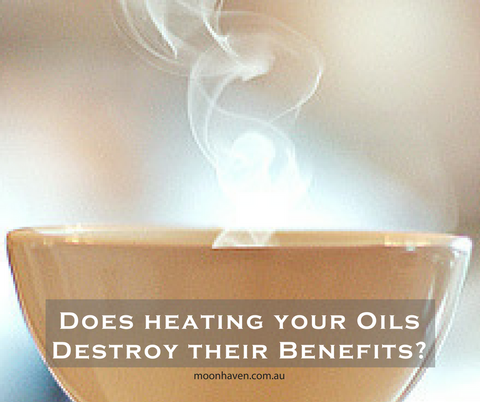 Does heating essential oils destroy their benefits?