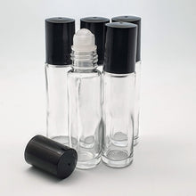 Glass RollerBall Bottles  5 x 10ml Pack