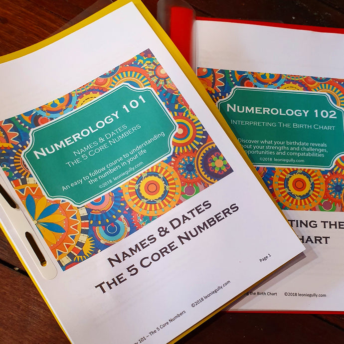 Numerology 103 Workshop - Geraldton - 24 October 2019