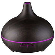 Ultrasonic Mist Diffuser - 300 ml Stem Wood Grain