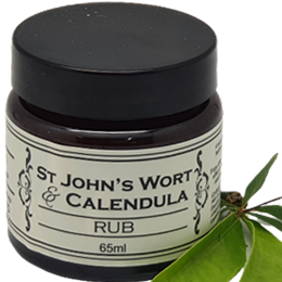 St John's Wort & Calendula Rub - previously known as Achy Breaky Rub