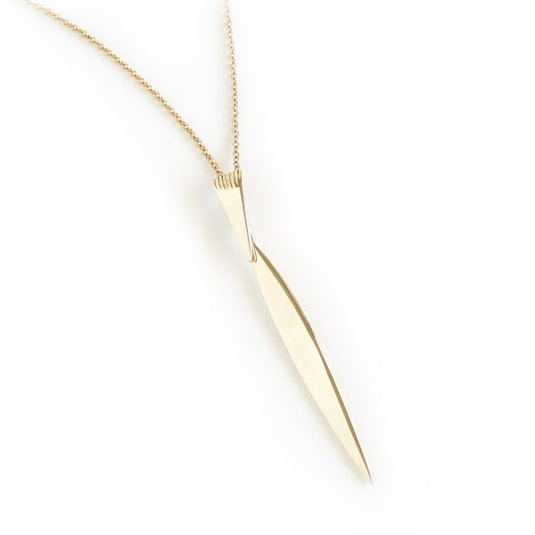 The Klipvis Pendant in Yellow Gold