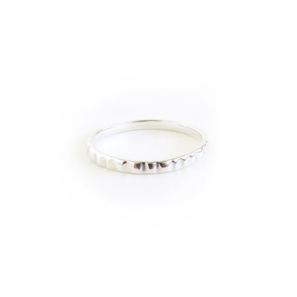 The Limpet Ring in Silver