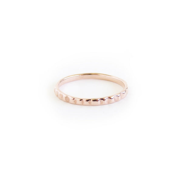 The Limpet Ring in Rose Gold