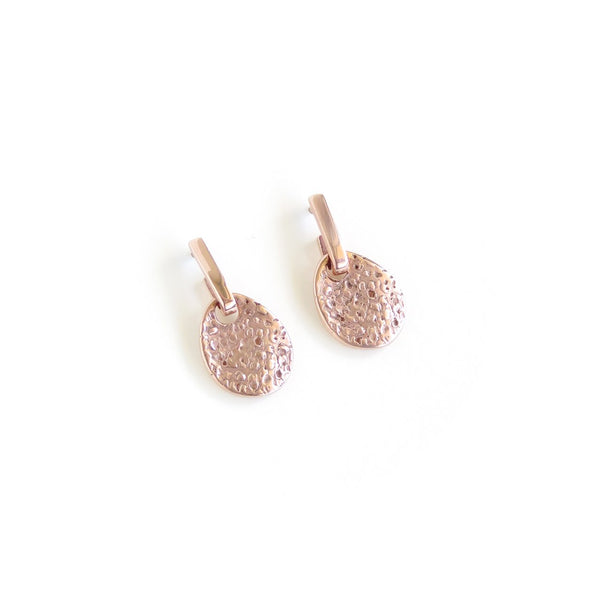 Shore Earrings in Rose Gold