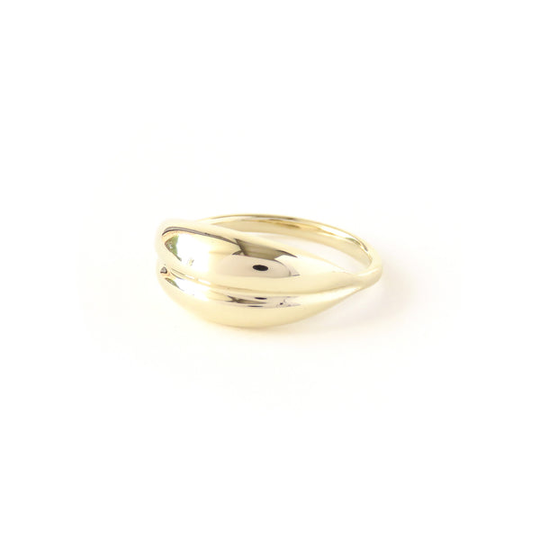 The Fold Ring in Yellow Gold