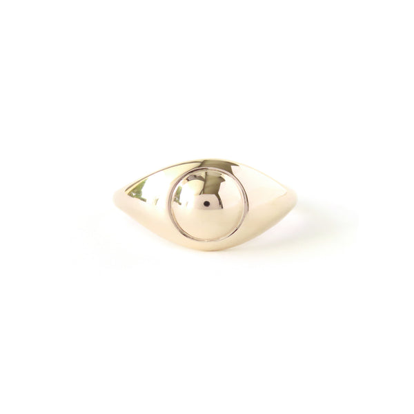 The Iris Ring in Yellow Gold