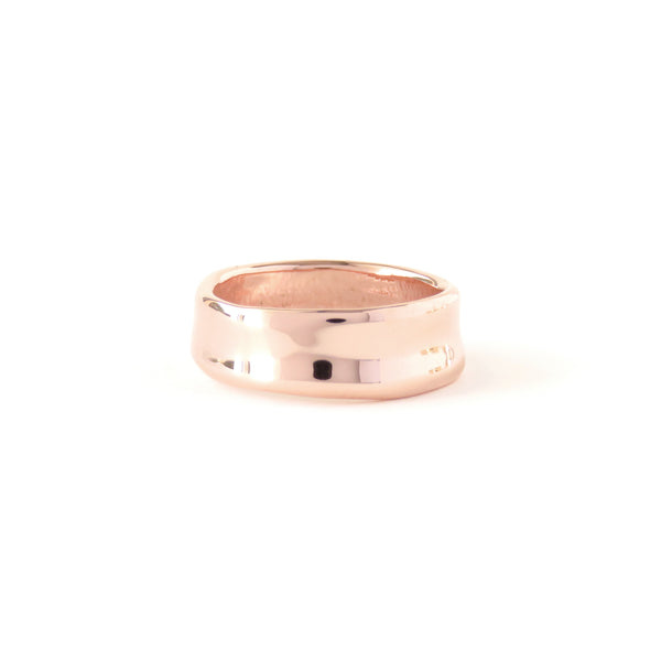 The Landscape Ring in Rose Gold