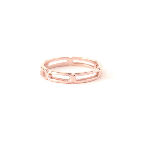 The Mantle Ring in Rose Gold