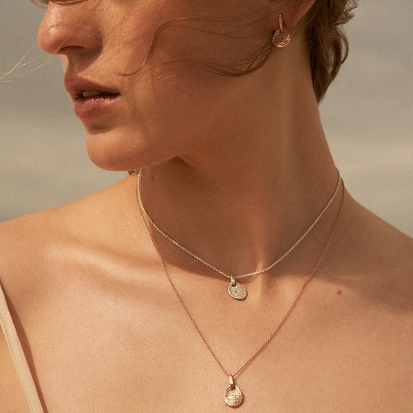 The Shore Pendant in Yellow Gold