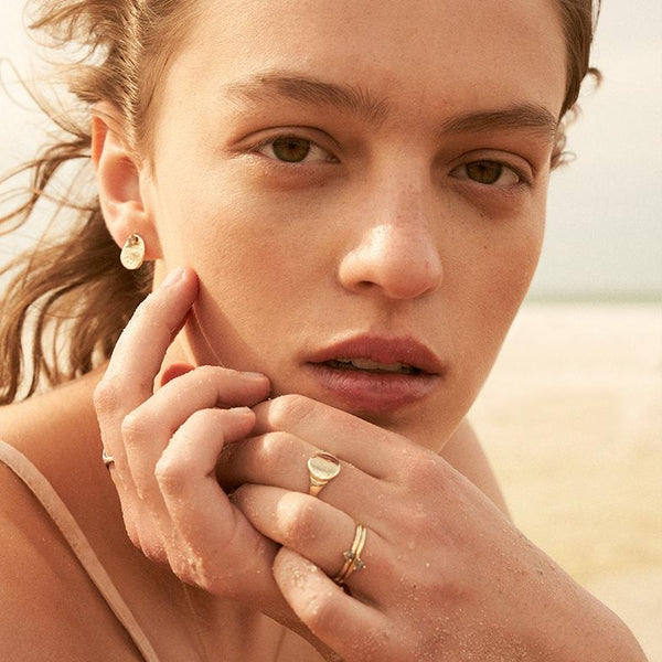 The Shore Ring in Rose Gold