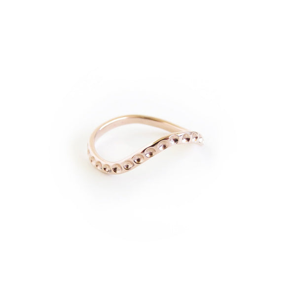 The Octopus Ring in Rose Gold