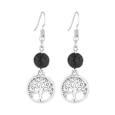 Tree of Life Diffusing Earrings