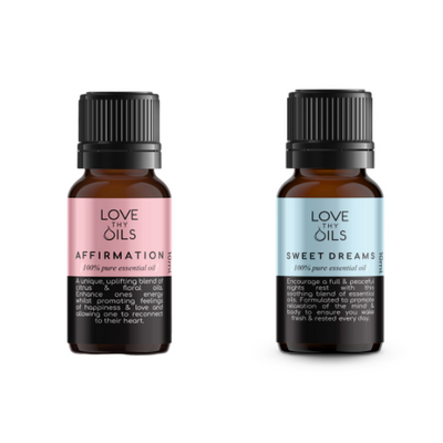 100% Pure essential oils for self love.