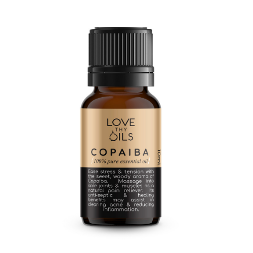 Copaiba essential oil for inflammation and pain