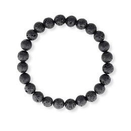 essential oil lava stone diffusing bracelet.  Small size great for kids.