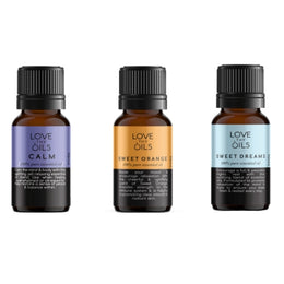 Essential oils for sleep. 3 pack Calm, Lavender, Sweet Orange, Sweet Dreams