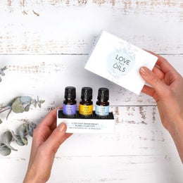 Essential oil set for sleep in gift box