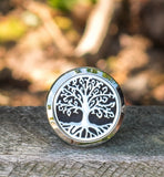 Tree of Life essential oil diffuser locket for the car.