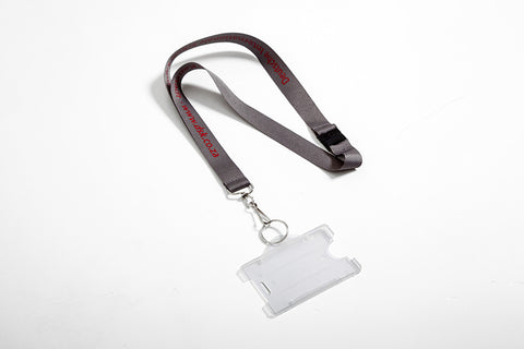Lanyard with card cover