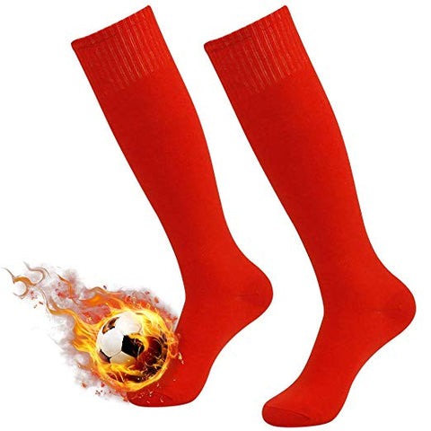 RED Soccer Socks