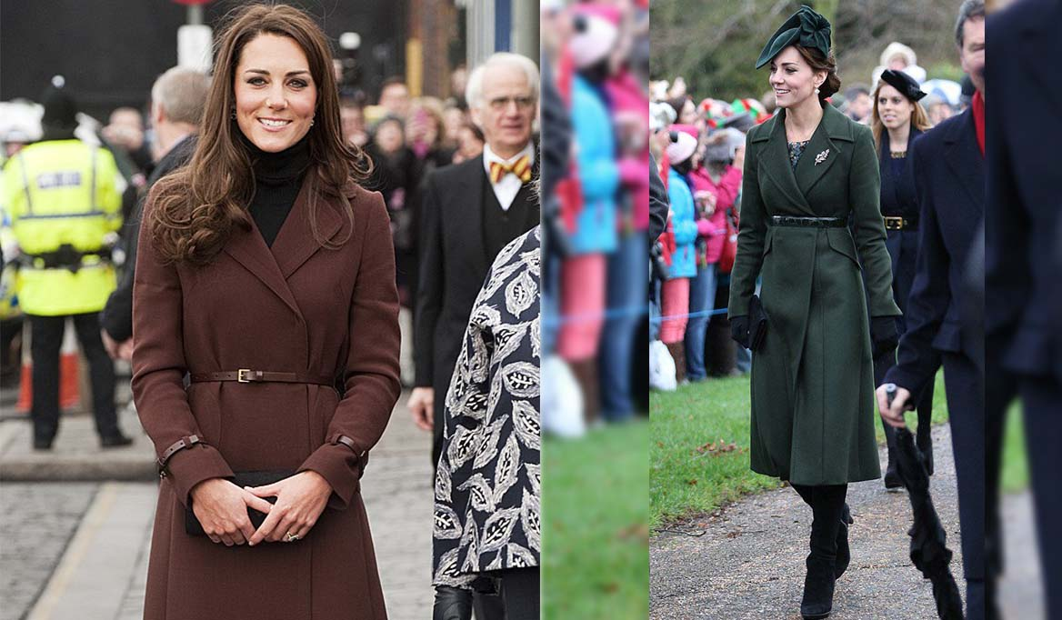 5 Ways To Wear Coats The Kate Middleton Style