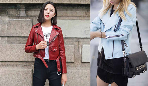 Leather Jacket Styling