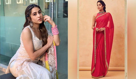 Sara Ali Khan Ethnic Wear Looks