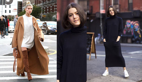 Sweater Dresses Styling