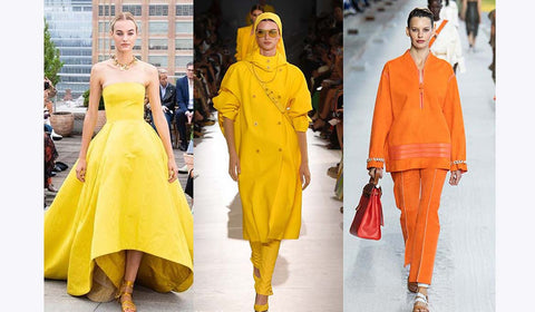 colour trends, SS'19, runway fashion, pastels, Summer 2019