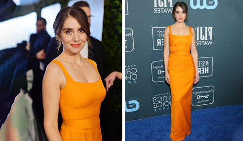Alison Brie At Critics Choice Awards 2020