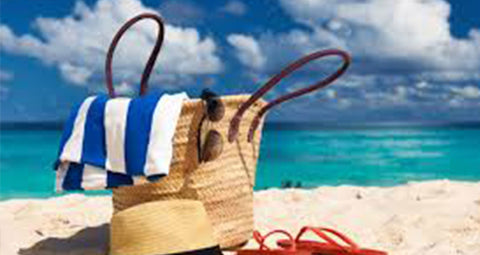 beach bag, beach essentials,