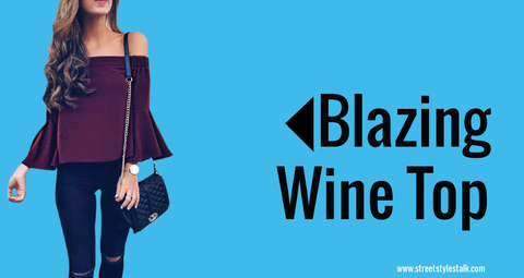 Blazing Wine Top