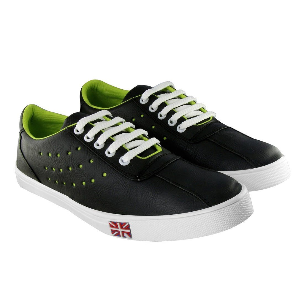 Blinder Black Casual Sneakers Shoes For Men