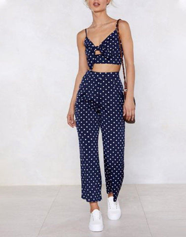 Dotted With Perfection Blue Pair Set