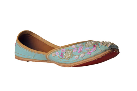 MSC Embroidered Genuine Leather Juttis
