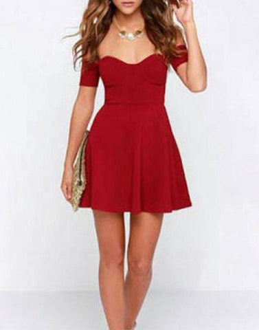 Baby Doll Red Dress