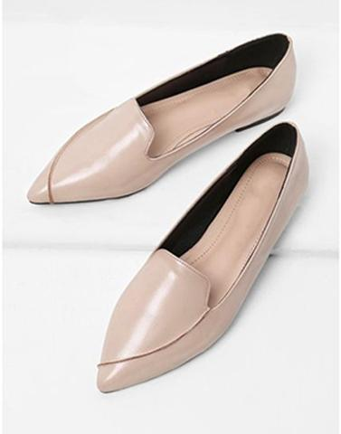 Parallel Lines Beige Footwear