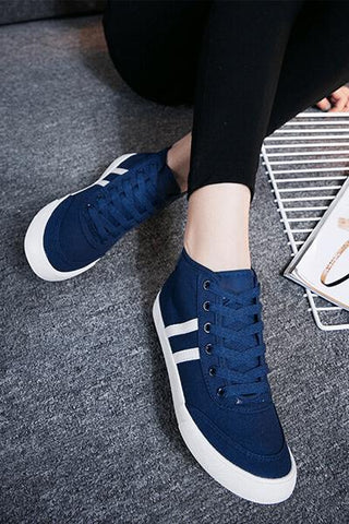 Stylish Blue Sneakers