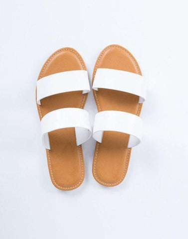Double Band Slip-On