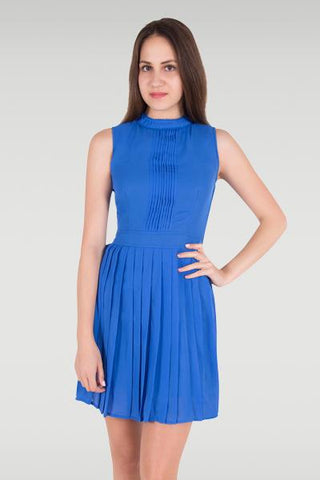 Set In Your Sway Blue Dress