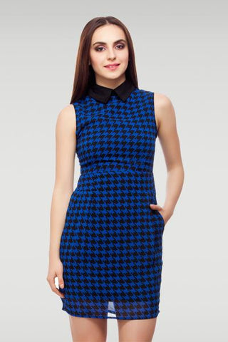 Collared Sheath Dress
