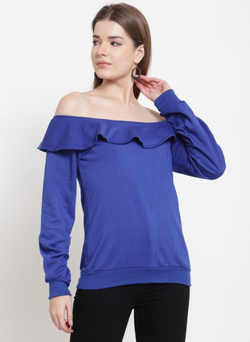 Belle Fille Blue Diva Sweatshirts