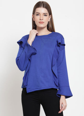 Belle Fille Cool Blue Sweatshirts