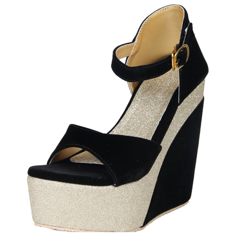 Lency Stylish Wedges Pump Heel